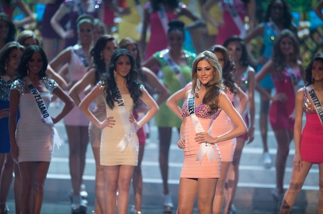 Diễm Hương trượt Top16, người đẹp Mỹ lên ngôi Miss Universe 2012 ảnh 1