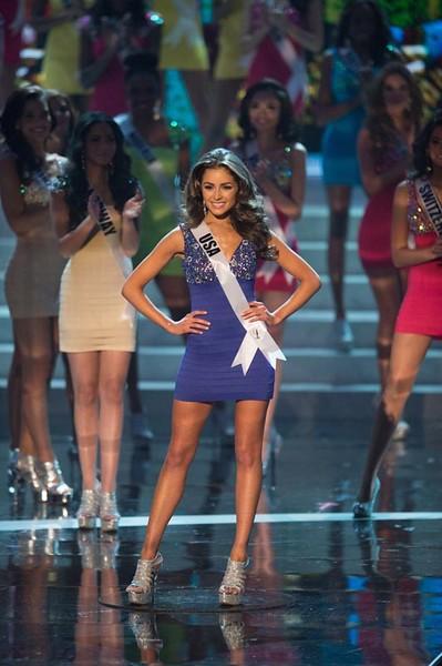 Diễm Hương trượt Top16, người đẹp Mỹ lên ngôi Miss Universe 2012 ảnh 8