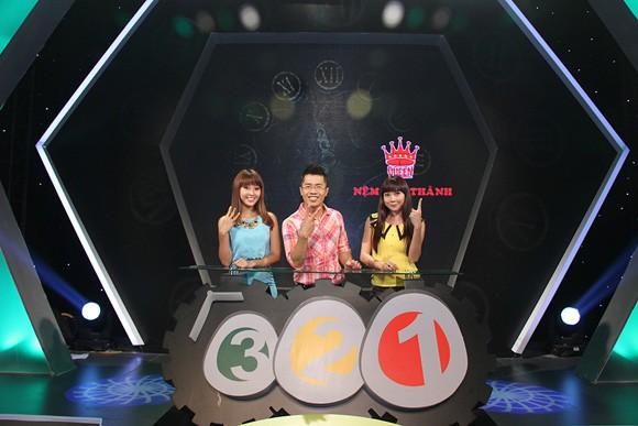 """Ngọc Quyên cười """"thả ga"""" trong gameshow """"3-2-1"""" ảnh 3"""
