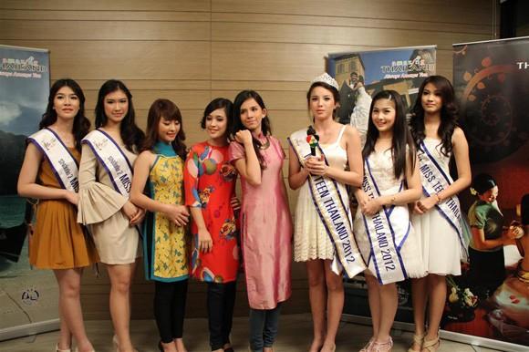 Miss Teen Việt Nam đọ sắc với Miss Teen Thái Lan ảnh 1