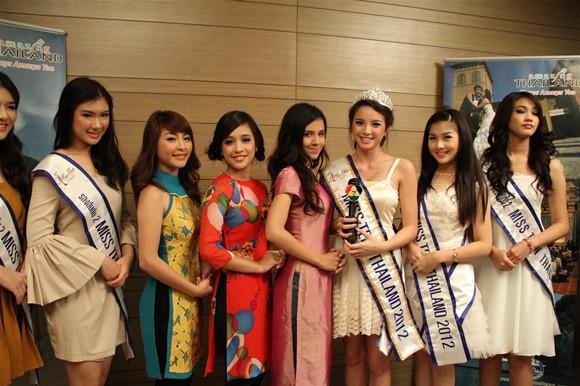 Miss Teen Việt Nam đọ sắc với Miss Teen Thái Lan ảnh 2