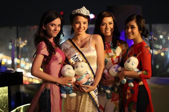 Miss Teen Việt Nam đọ sắc với Miss Teen Thái Lan ảnh 4