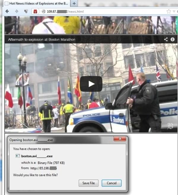 Cảnh báo một cuộc tấn công mới lợi dụng sự kiện đánh bom ở Boston ảnh 1