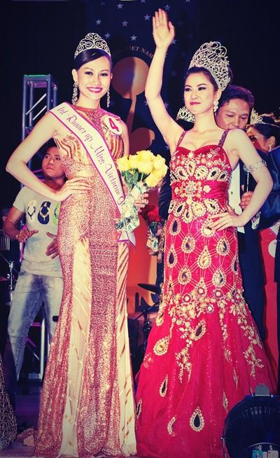 Cận cảnh nhan sắc của Tân hoa hậu Việt Nam Toàn cầu 2013 ảnh 7