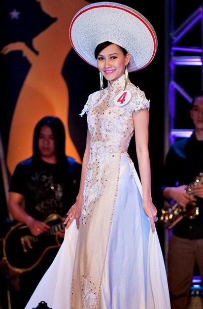 Cận cảnh nhan sắc của Tân hoa hậu Việt Nam Toàn cầu 2013 ảnh 4
