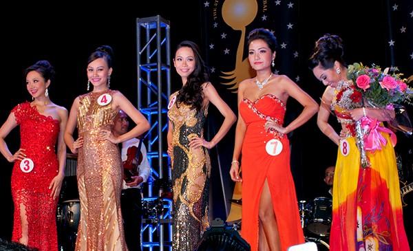 Cận cảnh nhan sắc của Tân hoa hậu Việt Nam Toàn cầu 2013 ảnh 10
