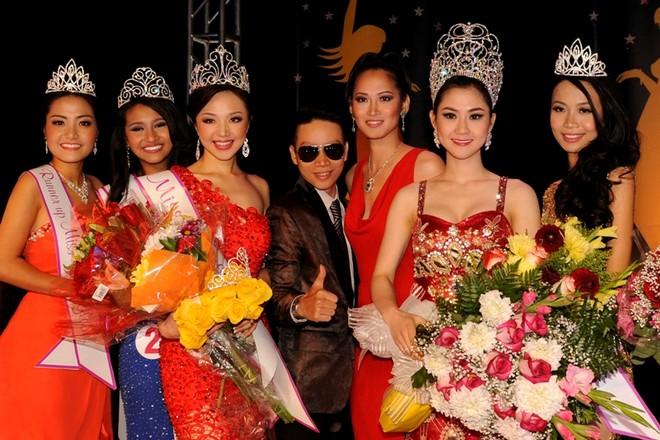 Cận cảnh nhan sắc của Tân hoa hậu Việt Nam Toàn cầu 2013 ảnh 12