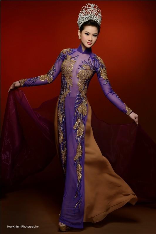Cận cảnh nhan sắc của Tân hoa hậu Việt Nam Toàn cầu 2013 ảnh 2