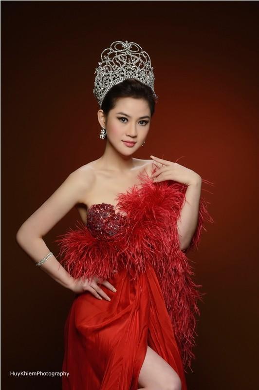 Cận cảnh nhan sắc của Tân hoa hậu Việt Nam Toàn cầu 2013 ảnh 3