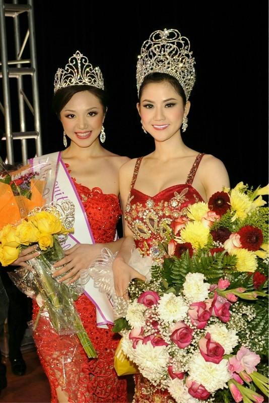 Cận cảnh nhan sắc của Tân hoa hậu Việt Nam Toàn cầu 2013 ảnh 6