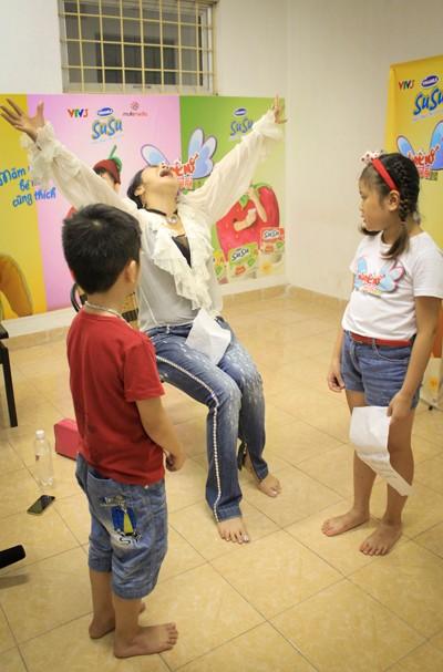Diva Thanh Lam trực tiếp dạy thí sinh nhí ảnh 3