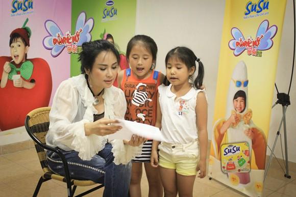 Diva Thanh Lam trực tiếp dạy thí sinh nhí ảnh 1