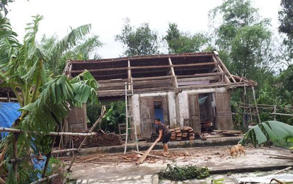Hàng nghìn ngôi nhà tốc mái, 18 người bị thương do bão ảnh 7