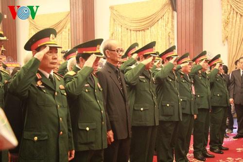 Những người cuối cùng được vào viếng Đại tướng Võ Nguyên Giáp ảnh 26