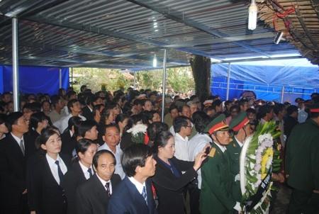 Những người cuối cùng được vào viếng Đại tướng Võ Nguyên Giáp ảnh 43