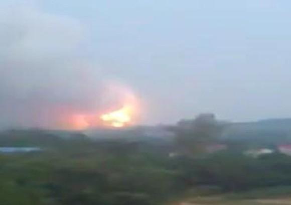 Toàn cảnh vụ nổ thảm khốc kho pháo hoa tại Phú Thọ ảnh 1