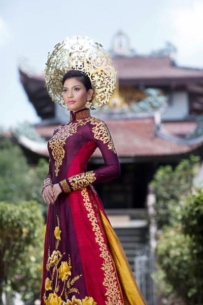 Hình ảnh Trương Thị May diện quốc phục tại Miss Universe 2013 ảnh 5