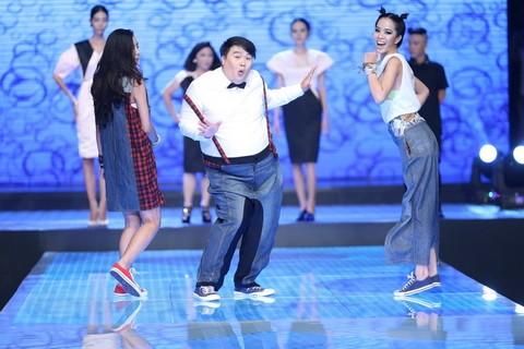 Độc đáo màn catwalk của Phạm Văn Mách, Hiếu Hiền ảnh 7