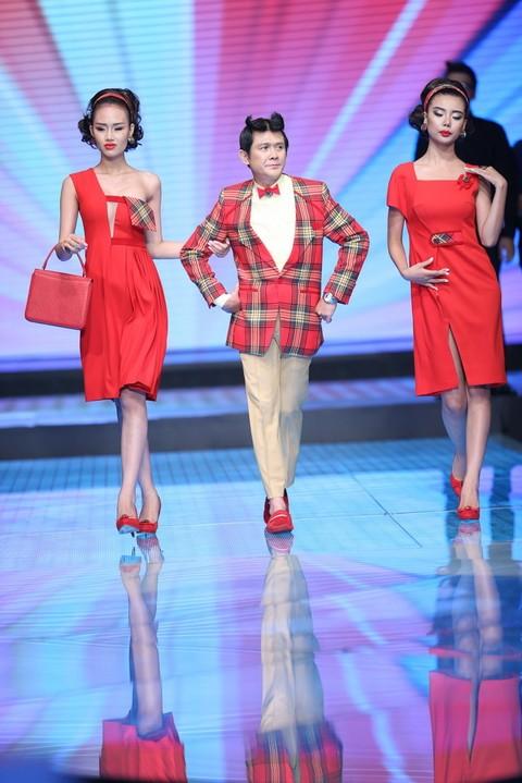 Độc đáo màn catwalk của Phạm Văn Mách, Hiếu Hiền ảnh 9