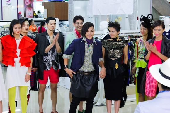 """Bị gọi là """"thảm họa thời trang"""", Kim Thoa chia tay Next top ảnh 2"""