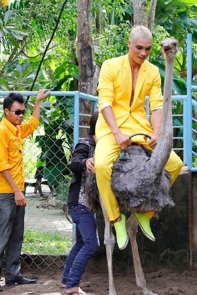 """Bị gọi là """"thảm họa thời trang"""", Kim Thoa chia tay Next top ảnh 6"""