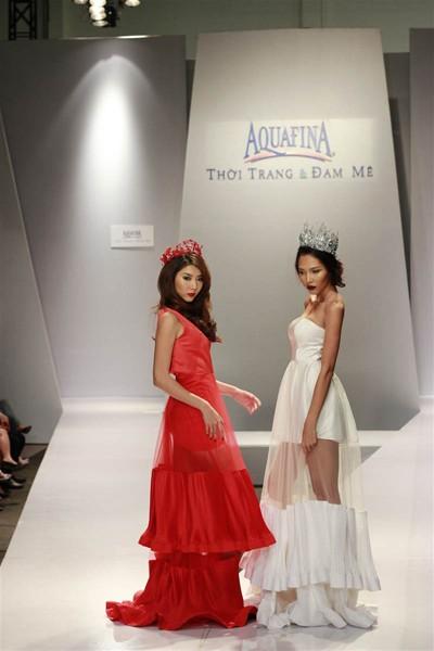 Ngọc Quyên, Minh Triệu gây ấn tượng với váy xuyên thấu ảnh 2