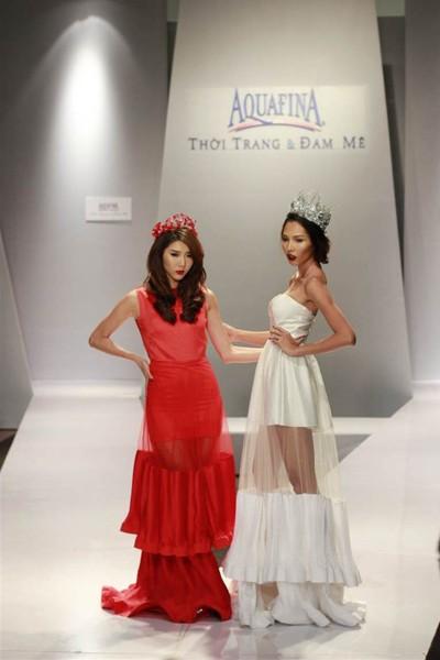 Ngọc Quyên, Minh Triệu gây ấn tượng với váy xuyên thấu ảnh 3