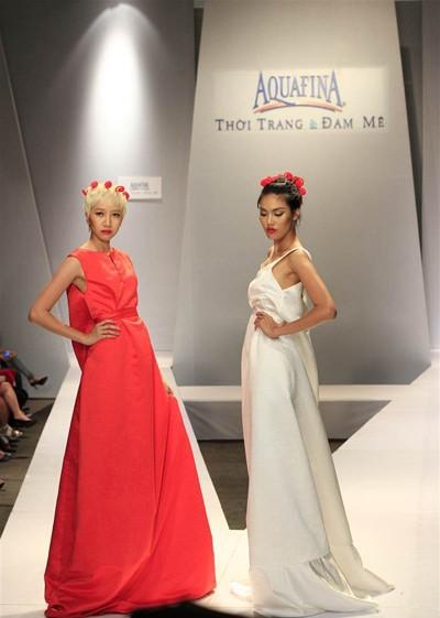 Ngọc Quyên, Minh Triệu gây ấn tượng với váy xuyên thấu ảnh 8