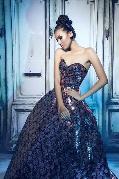 Trương Thị May quyến rũ trong những chiếc đầm dạ hội ảnh 9
