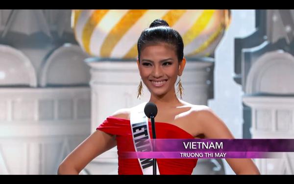 Trương Thị May tự tin diễn bikini tại bán kết Miss Universe 2013 ảnh 3