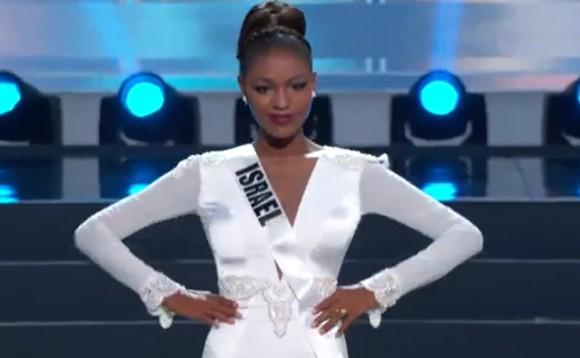 Trương Thị May tự tin diễn bikini tại bán kết Miss Universe 2013 ảnh 13