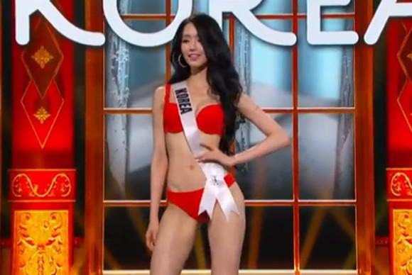 Trương Thị May tự tin diễn bikini tại bán kết Miss Universe 2013 ảnh 7