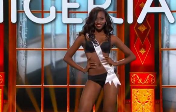 Trương Thị May tự tin diễn bikini tại bán kết Miss Universe 2013 ảnh 8