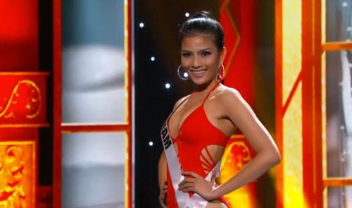 Trương Thị May tự tin diễn bikini tại bán kết Miss Universe 2013 ảnh 6