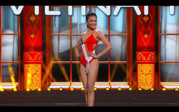 Trương Thị May tự tin diễn bikini tại bán kết Miss Universe 2013 ảnh 5