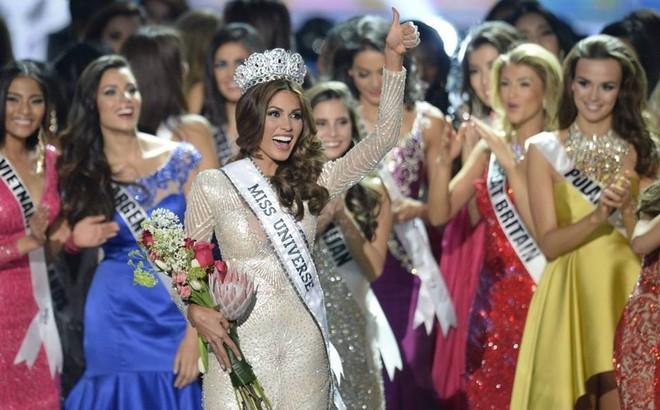Người đẹp Venezuela đăng quang Hoa hậu Hoàn vũ 2013 ảnh 11