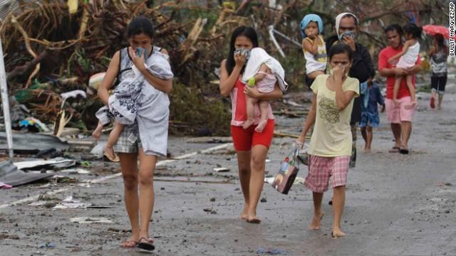 Rơi nước mắt trước thảm cảnh trẻ em Philippines sau siêu bão Haiyan ảnh 6