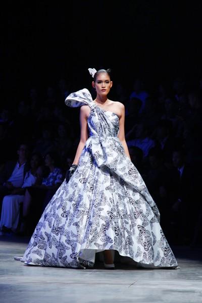 """Dàn """"chân dài"""" Việt quyến rũ trong trang phục họa tiết cánh bướm ảnh 2"""