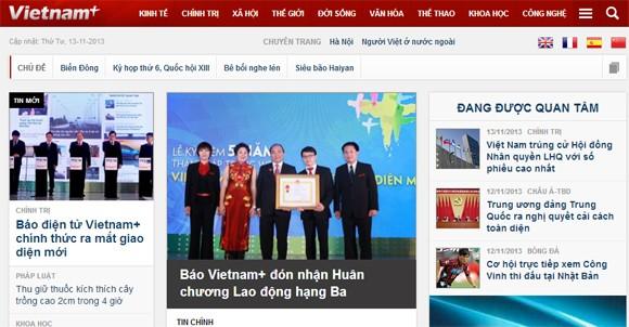 Báo điện tử Vietnam+ đón Huân chương Lao động hạng Ba ảnh 2