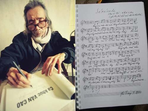 Lần đầu công bố hai nhạc phẩm trong di cảo của nhạc sĩ Văn Cao ảnh 1