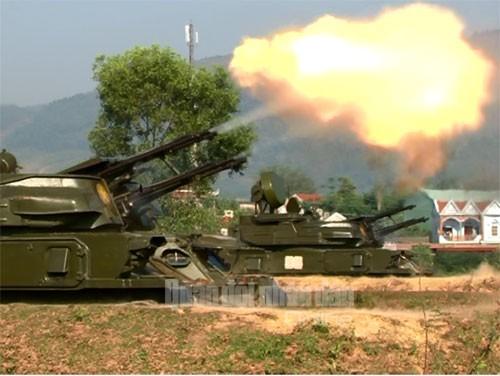 Hệ thống pháo phòng không Việt Nam khai hoả diệt mục tiêu ảnh 2