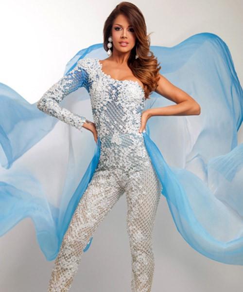 Chiêm ngưỡng vẻ đẹp nóng bỏng của tân Hoa hậu Trái đất 2013 ảnh 7