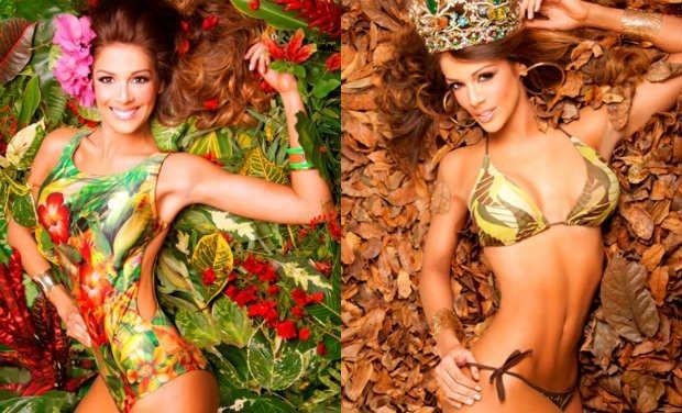 Chiêm ngưỡng vẻ đẹp nóng bỏng của tân Hoa hậu Trái đất 2013 ảnh 13