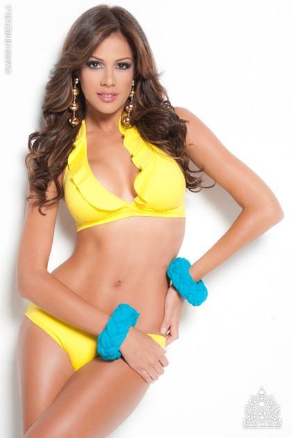 Chiêm ngưỡng vẻ đẹp nóng bỏng của tân Hoa hậu Trái đất 2013 ảnh 5