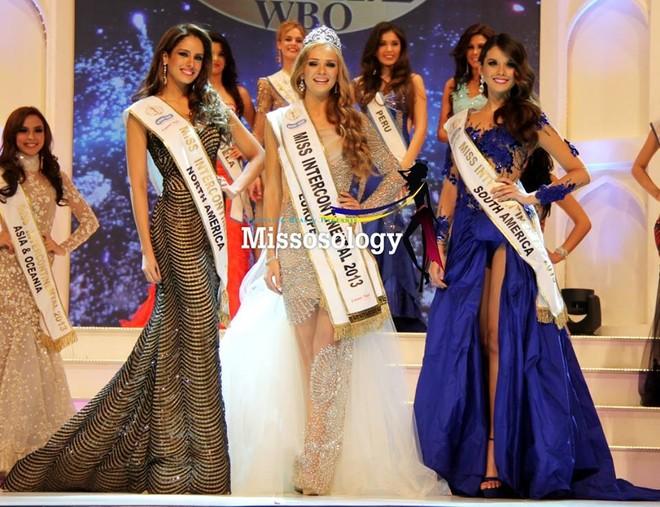 """Vẻ đẹp """"búp bê"""" nóng bỏng của tân Hoa hậu Liên lục địa 2013 ảnh 3"""