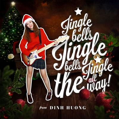 """Đinh Hương hóa """"bà già Noel"""" tặng khán giả """"Jingle Bells"""" ảnh 1"""