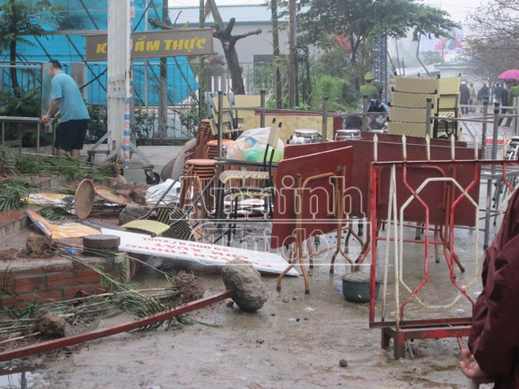 Cưỡng chế, giải phóng mặt bằng khu đất đường Trần Thái Tông ảnh 2