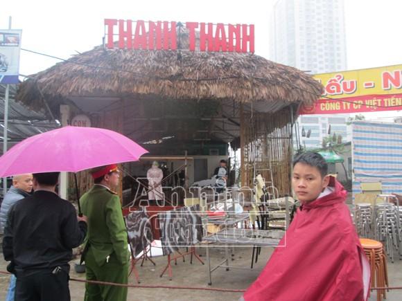 Cưỡng chế, giải phóng mặt bằng khu đất đường Trần Thái Tông ảnh 4