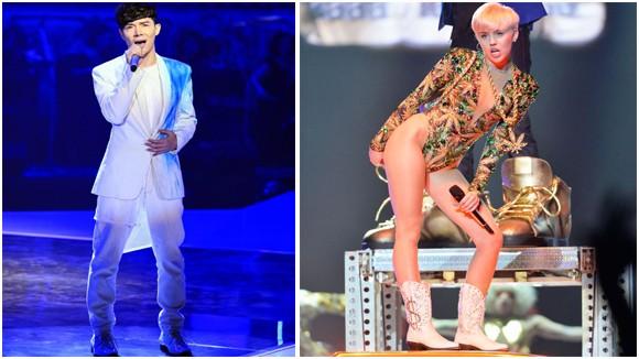 """Nathan Lee kéo """"người tình tin đồn"""" lên sâu khấu, bắt chước Miley Cyrus ảnh 1"""