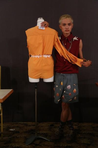 """Chiêu """"hô biến"""" áo sơ mi độc đáo của thí sinh Project Runway ảnh 6"""